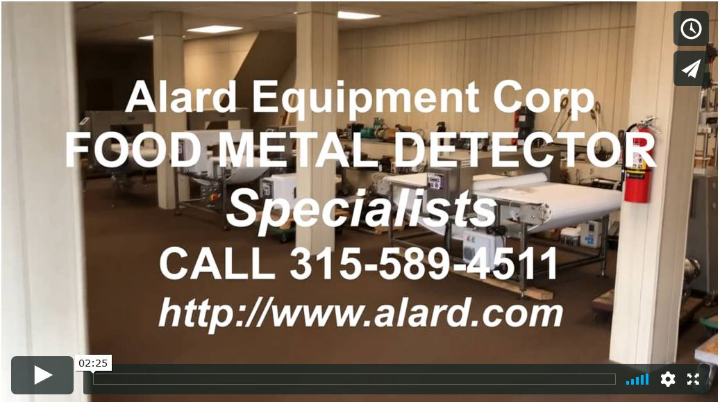 Link to foodmetaldetector.tv - metal detector video links