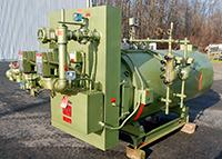 used STEAM BOILER, 60HP 150psi, gas-fired, like new, Alard item Y2945