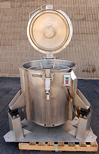 used BROTHERS LEGROW CENTRIFUGAL VEGETABLE SPIN DRYER, Alard item Y3196