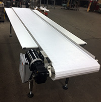 NEW FOOD GRADE FRUIT AND VEGETABLE INSPECTION CONVEYOR, 12x24 six person, Alard item Y3345