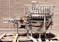 ELMAR Model RPE-428 28-STATION ROTARY PISTON FILLER, Alard item Z6134