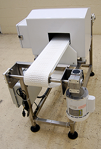 NEW, FOOD PROCESS METAL DETECTOR with BELT CONVEYOR, 26x17, Alard item Y3347