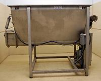 used, STAINLESS STEEL LIVE BOTTOM HOPPER, FPEC Accumulation Hopper Model SCL-930 Alard item Y2574
