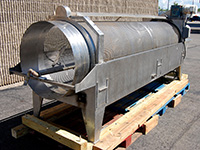 used stainless steel tumble WASH REEL, Alard item Y3190