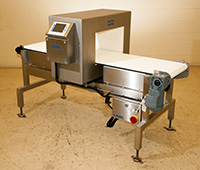 NEW FOOD PROCESS METAL DETECTOR with BELT CONVEYOR, 20x12, Alard item Z3346