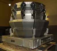 Used, YAMATO DATAWEIGH Sigma Model ADW714MWH MULTIHEAD WEIGHER / RADIAL COMBINATION SCALE, Alard item Y0674
