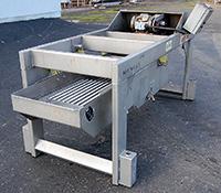 Used, Key ISO-FLO STAINLESS STEEL VIBRATORY GRADER / VIBRATING SHAKER, Alard item Y1704