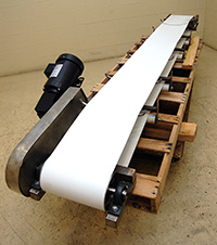 NEW TROUGH BELT CONVEYOR, Alard item Y1904