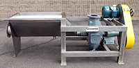 used Cornell 6NHPP-F16K 6 INCH HYDRO TRANSPORT FOOD PUMP with STAINLESS STEEL VORTEX TANK, Alard item Y2619