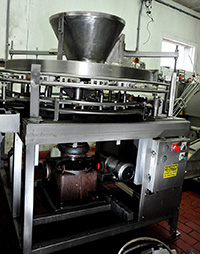 used ATLAS PACIFIC GRANULAR FILLER, Alard item Y2694