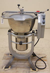 used, HOBART CUTTER-MIXER, Model HCM-450 food processor, Alard item Y3462
