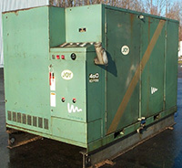 Used, 100 HP ROTARY SCREW AIR COMPRESSOR, Joy Twistair Model TA-0480FAA4CF, Alard item Z8992