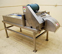 Used, URSCHEL MODEL J DICER / STRIP CUTTER / GREENS CHOPPER, Alard item Y3380