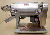 used BROWN Model 2503 SCREW FINISHER / JUICE EXTRACTOR, Alard item Y3518