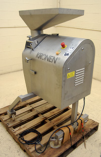 Used, Kronen Model KUJ DICER, SLICER, STRIP CUTTER, all stainless steel, Alard item Y3529