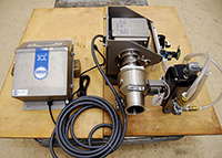 Used, LIQUID, PASTE AND SLURRY METAL DETECTOR for 3 inch pipeline, Loma IQ2, Alard item Y2566