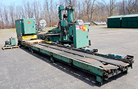 used TRAY PALLETIZER for cans in trays, Whallon, Alard item Y2661