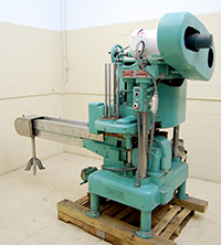 used Angelus 60L CAN SEAMER with straight-line infeed, Alard item Y1315