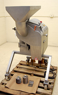 used High capacity industrial vegetable DICER, Kronen Model KUJ, Alard item Y3529