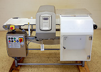used FOOD METAL DETECTOR with CONVEYOR, Ceia THS / MBB, 14x5, 316 stainless steel, Alard item Y3645