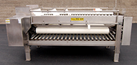 used Kerian SPEED SIZER LS30 with TAKEAWAY CONVEYOR, stainless steel; Alard item Y3647