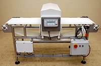 refurbished FOOD METAL DETECTOR with CONVEYOR, 20x6, Goring Kerr DSP2; Alard item Y3700