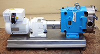 Used Waukesha U60 PUMP,  5HP variable speed; Alard item Y3709