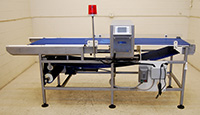 New in stock FOOD METAL DETECTOR with CONVEYOR, 27x7, Cassel Metalshark2, Alard item Y3378