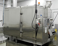 used, COMPACT SPIRAL FREEZER, CRYOGENIC LIQUID NITROGEN, food grade stainless steel, Alard item Y3604