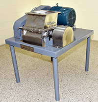 used FITZPATRICK INDUSTRIAL IMPACT MILL, 15HP, stainless steel, Alard item Y3661