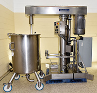 Used SCOTT TURBON SANITARY HYDRAULIC RAM (HR) MIXER / EMULSIFIER / DISPERSER, Alard item Y3785