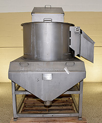 used HEAT AND CONTROL Model BP BATCH PEELER, 36 inch, stainless steel, Alard item Y3797