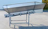 Used, HEINZEN HMI STAINLESS STEEL HOPPER-FEEDER, Alard item Y2004