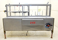 used COMBI Model 2EZ AUTOMATIC CASE ERECTOR with BOTTOM TAPE SEALER, Alard item Y2272