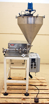 used BENCHTOP LIQUID PUMP FILLER with stand, General Packaging Equipment, Alard item Y2929