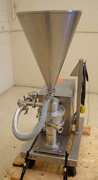 used QUADRO YTRON XC IN-LINE DISPERSER / POWDER-LIQUID MIXER, Alard item Y3659