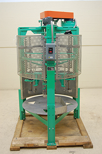 used ROTARY CABBAGE CORING MACHINE; Alard item Y2198