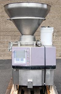 used HANDTMANN VACUUM STUFFER / FILLING MACHINE, model VF200, Alard item Y3077