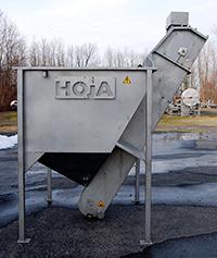 used, Hoja HOPPER-FEEDER / FRUIT AND VEGETABLE DIP TANK, Alard item Y2508