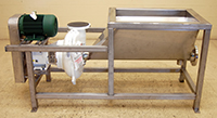 used CORNELL 4 inch FOOD PUMP with FEED TANK and DRIVE, Alard item Y3534