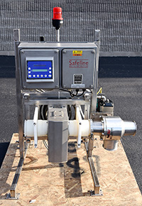 used, SAFELINE PIPELINE METAL DETECTOR, Alard item Y2582