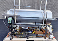 used SPRAY DYNAMICS TWO-STAGE COATING SYSTEM, Alard item Y3929