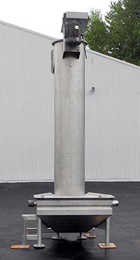 used Vanmark HYDROLIFT DESTONER, 24 inch diameter, stainless steel, Alard item Y3935