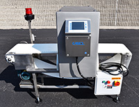 NEW CASSEL METALSHARK2 FOOD PROCESS METAL DETECTOR with BELT CONVEYOR, 14x15, all stainless steel, Alard item Y3950
