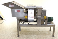 used, Refurbished URSCHEL Model G-A DICER, strip cutter, slicer, French fry cutter, USDA, sanitary stainless steel, Alard item Y3963