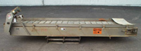 "used, OLNEY BELT CONVEYOR, 38"" wide x 13' long, Alard item Z8595"