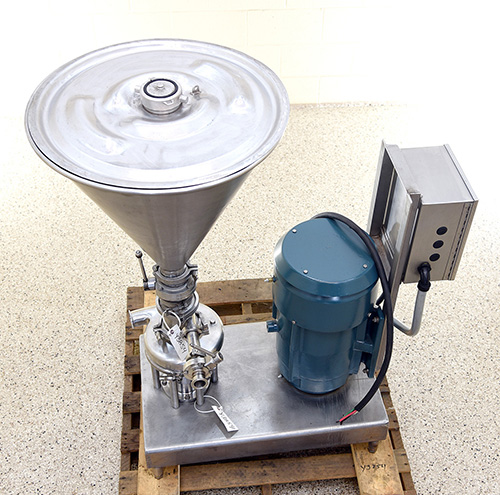used Tri-Clover Tri-Blender high-shear inline liquid POWDER DISPERSER, Alard item Y3854