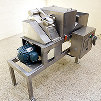 used, Refurbished URSCHEL Model H-A DICER, cube cutter, strip cutter, slicer, Alard item Y4021