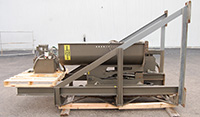 used, National Bulk Equipment Model 2L2-SS barrel dumper / bin dumper, Alard item Y2817