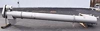 used, Vanmark HYDROLIFT  VERTICAL SCREW FEEDER / DESTONER, 16 inch diameter, 16 foot lift, stainless steel, Alard item Y4109